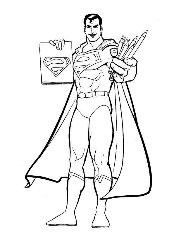 12 Belle Coloriage De Superman Photograph Coloriage Superman Coloriage Batman Coloriage