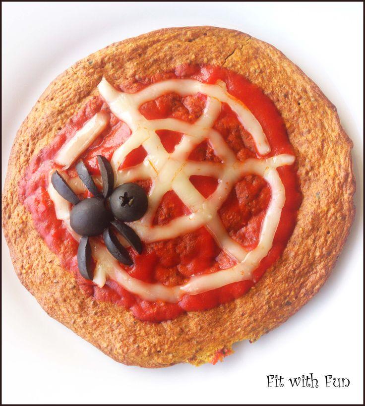 ChiaSeeds Oat & Pumpkin Protein Pizza Crust Pizza Proteica con Zucca e Avena ai Semi di Chia Gluten Free, Vegan, LowCarb in meno di 300 calorie! #foodblogger #training #iifym #iifymitalia #eatclean #light #fit #fitness #foodgasm #foodporn #fitwithfun #fitfam #bodybuilding #healthyfood #recipe #ricetta #pizza #spider #web #pumpkin #chiaseed #protein #bulkpowders #whey #oat #glutenfree #vegan #halloween #lowcarb #lowfat