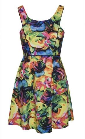 Leanne Floral Cutout Dress $55.95 www.littlepartydress.com.au