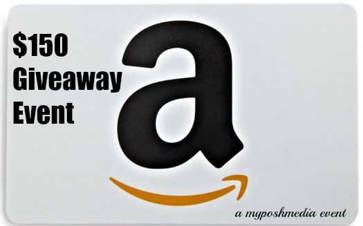 Enter to Win $150 Amazon Giveaway Ends 1/2