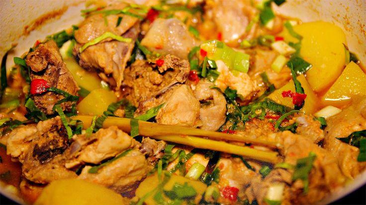Resep Ayam Woku Pedas Menggugah Selera dan Mudah Tambah Berat Badan