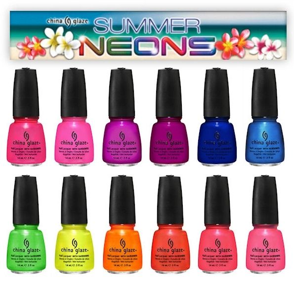 Why Does Neon Nail Polish Chip: Best 20+ China Glaze Neon Ideas On Pinterest