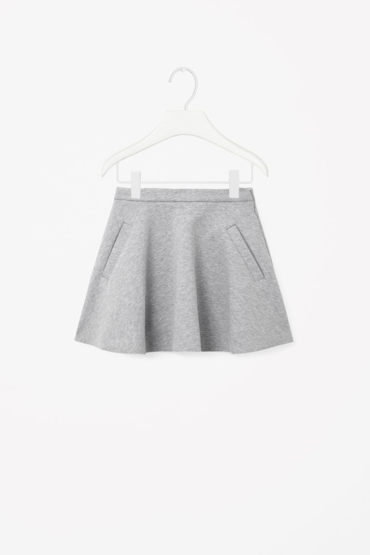 COS | Flared jersey skirt