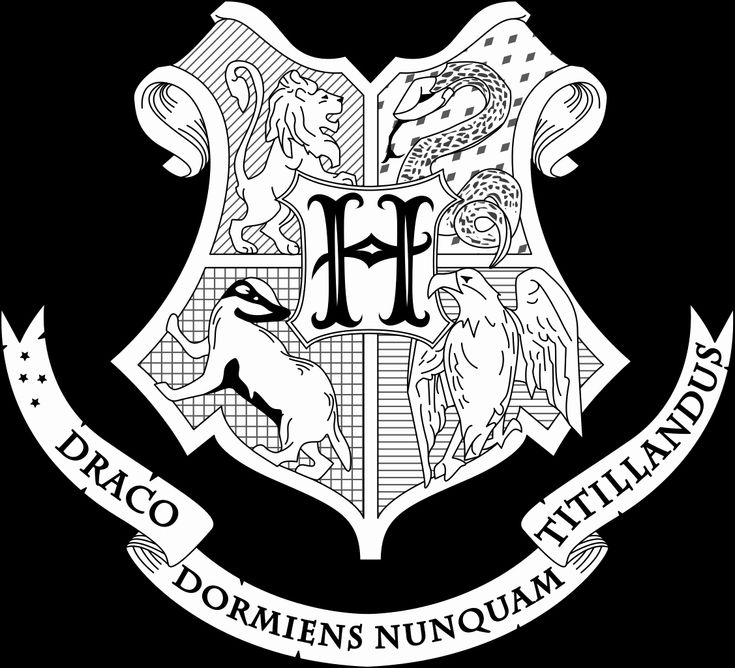 24 Hogwarts Crest Coloring Page in 2020 | Harry potter ...