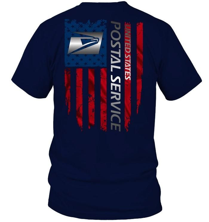 United States Postal Service American Flag Shirt Nm In 2020