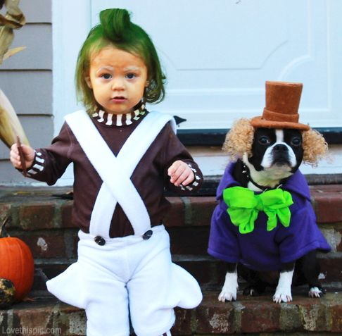 Willy wonka costumes halloween kids costumes dog costumes pet costume ideas diy costume ideas kid costume ideas... @Jenn L Sequete can we do this  @Theresa Burger Sequete