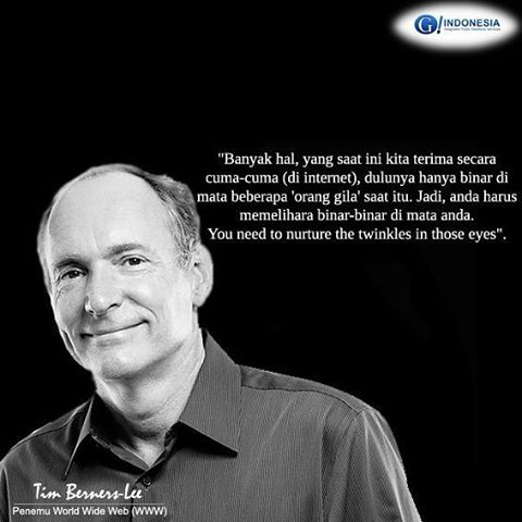 Tim Berners-Lee - Penemu World Wide Web (www)  #timbernerslee #worldwideweb #G1ndonesia #G_Indonesia #G_IndonesiaNews #g_1ndonesia #gcommunications #publicrelations #infographic #world #indonesia #teknologi #informasi #nusantara  #socialmediamarketing #socialmedia #instagram #internet #teknologiinformasi