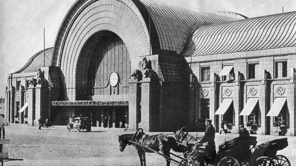 Viipurin vanha rautatieasema.