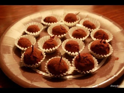 Here is the delicious recipe of the chocolate truffles by my grandma Monica, a french woman with italian origins #recipe #delicious #yummy #tasty #cooking