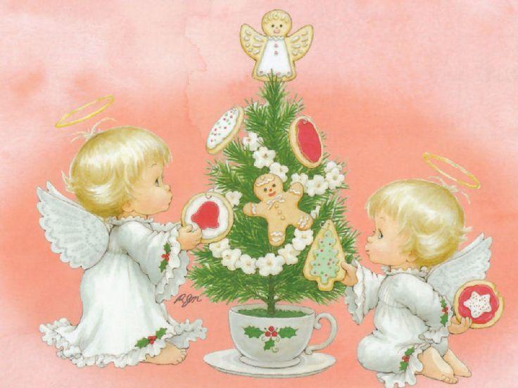 Рут Морхед ангелы |-Анджелес | Angelitos | Рут Морхед | Tarjetas Карты | иллюстрации ...