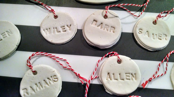 MishMashers: Personalized Ornaments or Gift Tags - DIY