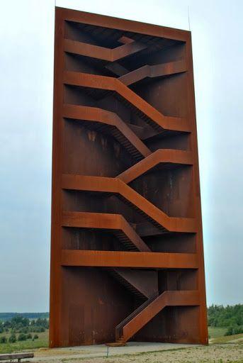 Corten Staircase Tower