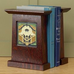 Arts  Crafts Bookends