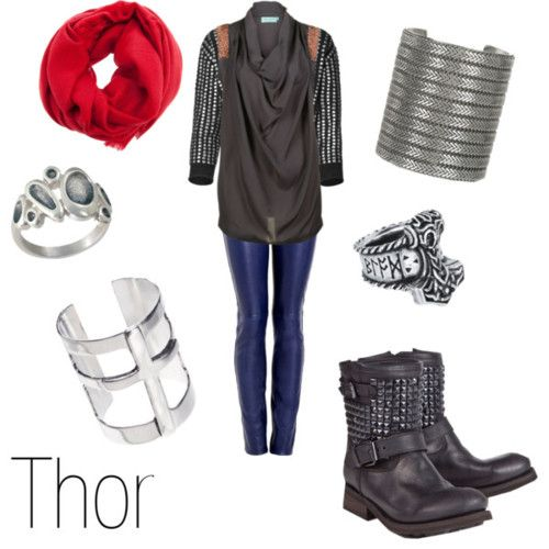 Character Inspired Fashion (My outfits inspired by the Avengers (& Loki))
