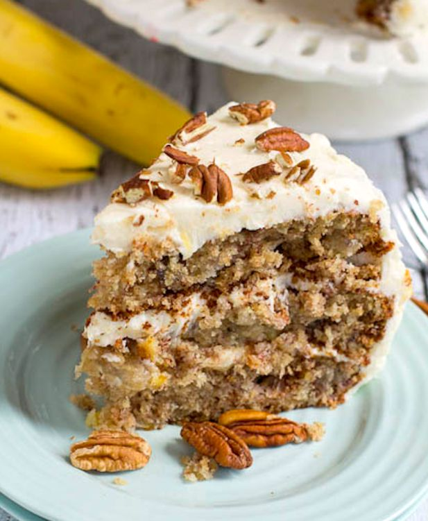 Hummingbird Cake | 12 Cakes & Pies You Need To Try In This Lifetime