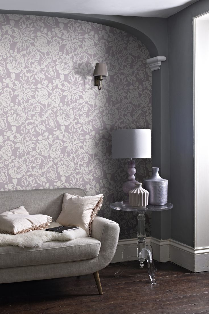 Sabi Wallpaper Design By Prestigious Is An Elegant All Over Large Scale  Flower Design With A Part 79