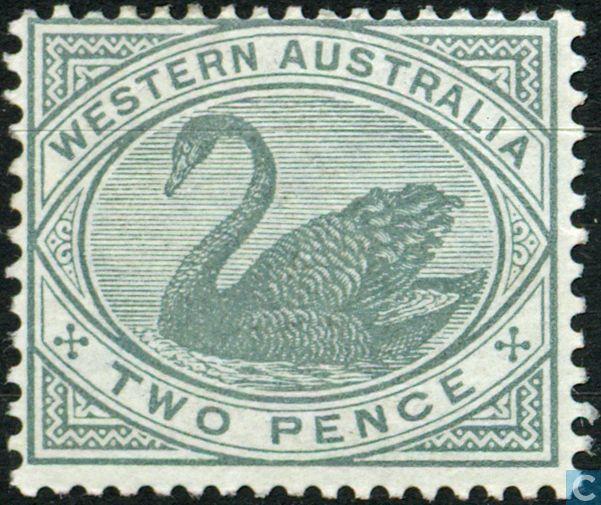 1890  Western Australia - Swan