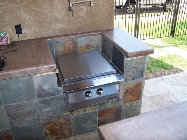 17 best images about outdoor kitchens by crane on for Custom made kitchen countertops