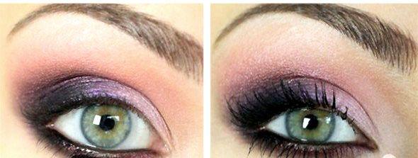Идеальный макияж для зеленых глаз пошагово. Фото+Видео. Цветовая палитра для зеленоглазых
