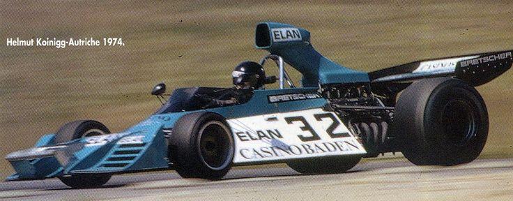 Helmuth Koinigg (Scuderia Finotto) Brabham BT42 - Ford