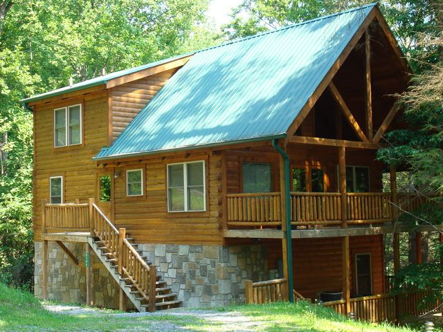 The SS Wild West - Rental Cabins offered by Little River Realty - Near Townsend, Tennessee