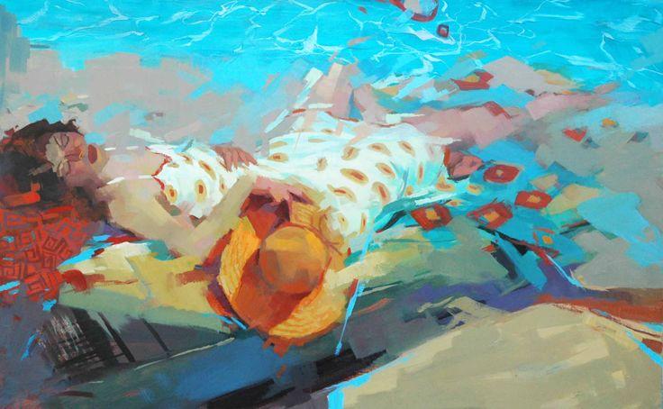 cSTEI 49 Heatwave 30x48 oil on canvas 4500