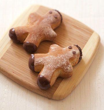Mannele cannelle chocolat pour la Saint-Nicolas - les meilleures recettes de cuisine d'Ôdélices
