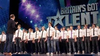 ‪Only Boys Aloud - The Welsh choir's Britain's Got Talent 2012 audition - UK version‬‏, via YouTube.