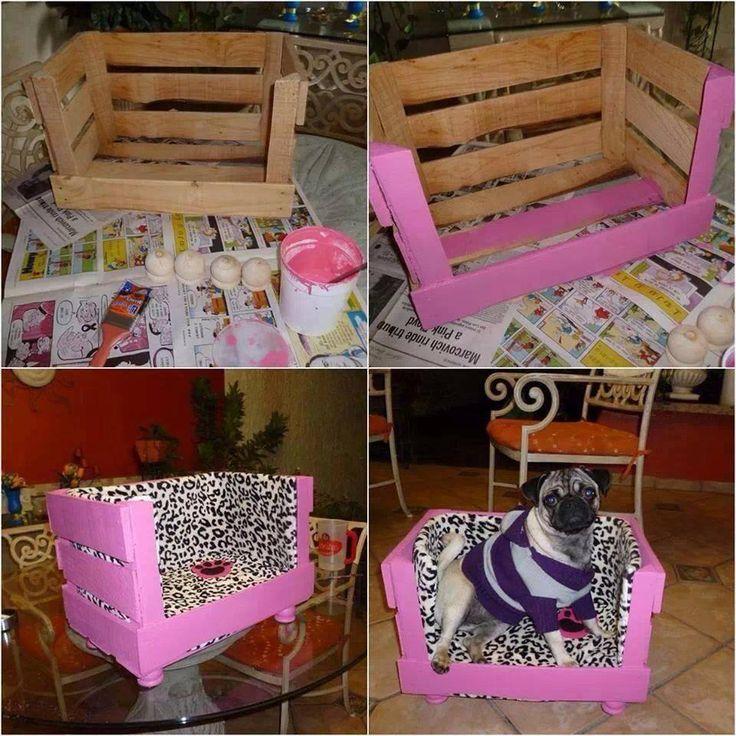 caja  dormitorio perro