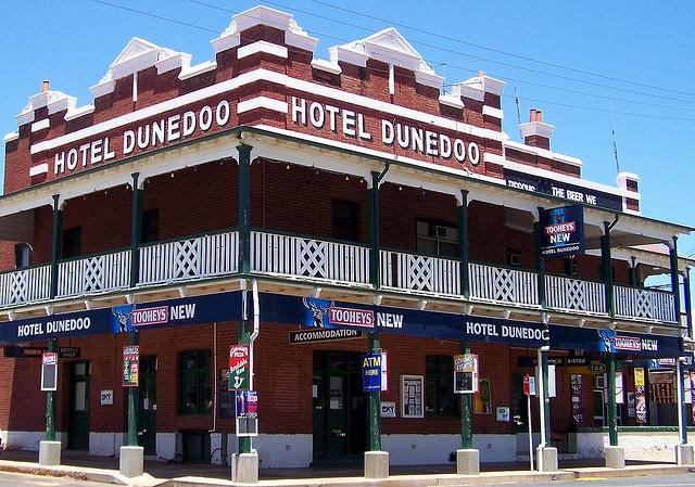 Now that's an Aussie pub...