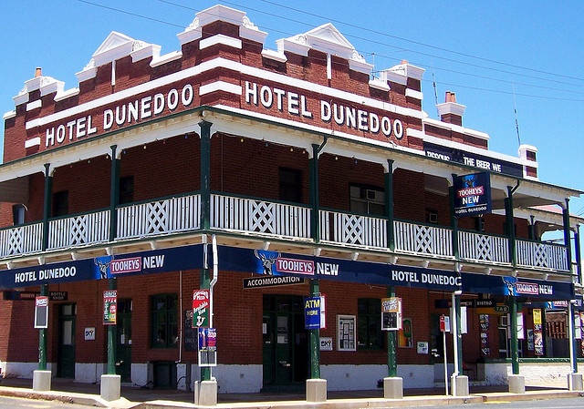 Now that's an Aussie pub...Dunedoo