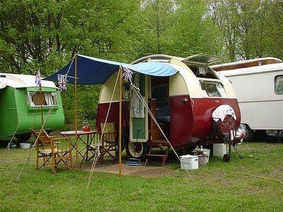 Une caravane originale