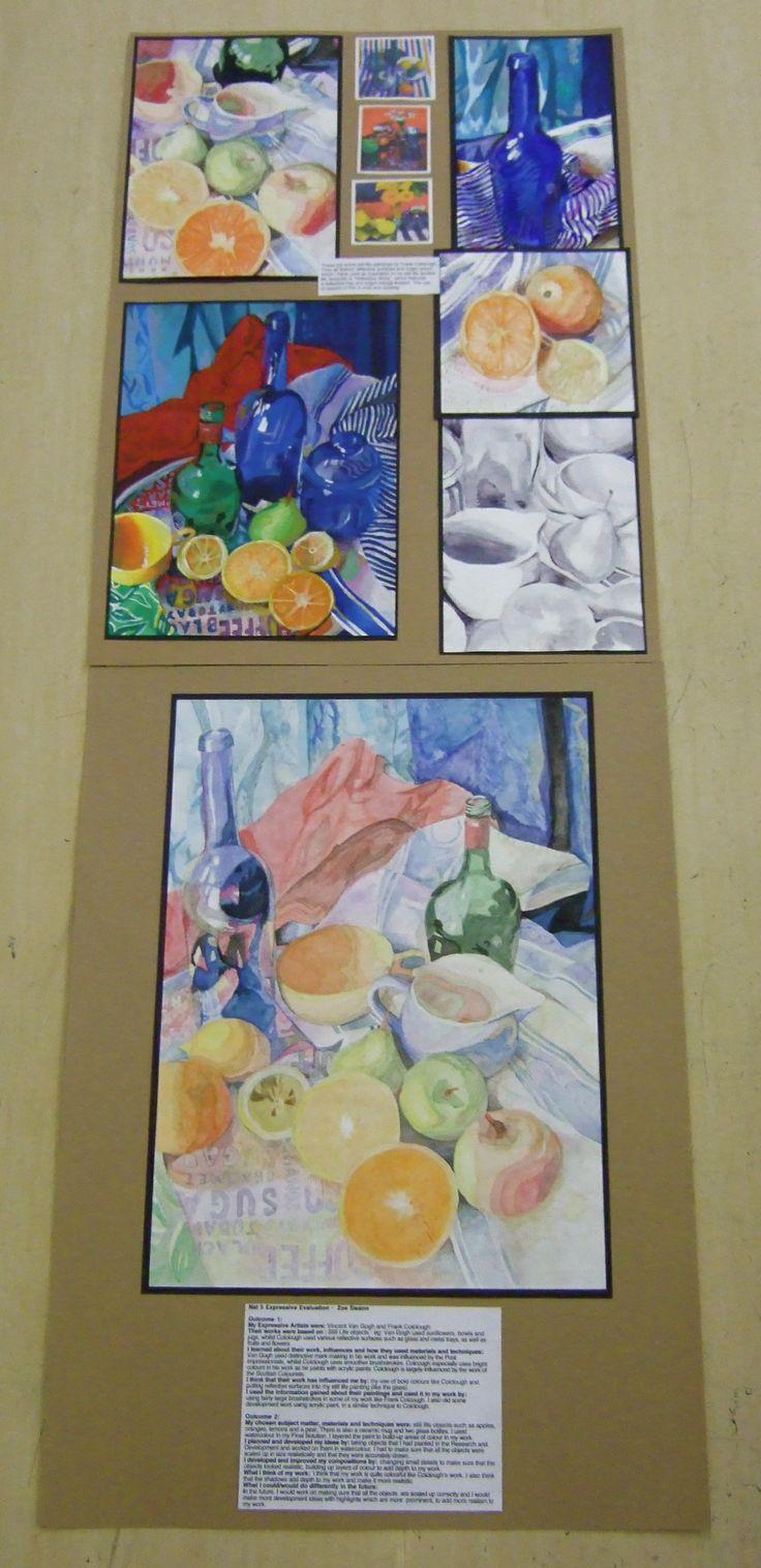 Nat 5 Expressive folio - Paisley Grammar school