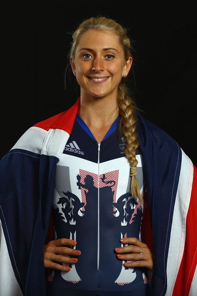 Laura Trott Photos - Laura Trott of Great Britain and Team GB poses for a photo…