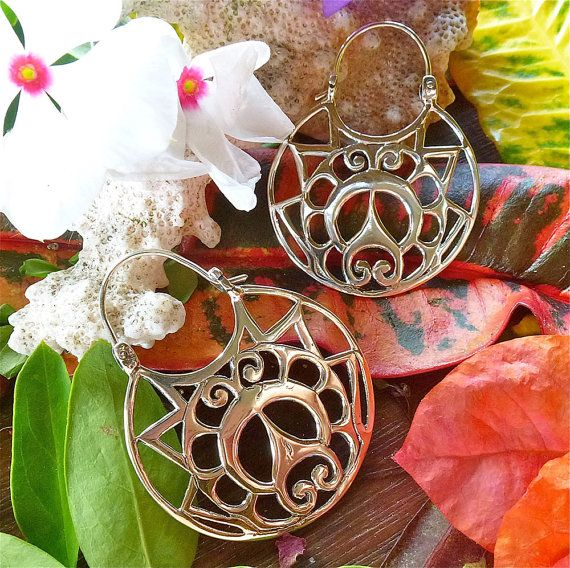 JOY OF LIVING Adinkra Symbol Silver Sterling by EvalutionJewellery