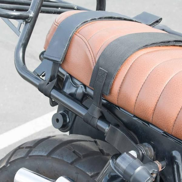 The two best friends The VUZ Dry Saddlebags are perfect for any riding condition and attach to various bike types with different seat widths, exhaust setups, and attachment points. Completely waterpro