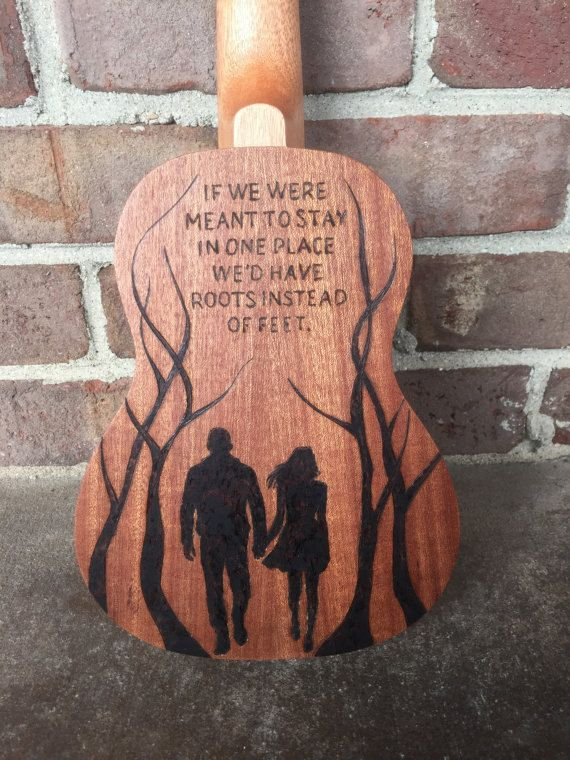 These custom ukuleles are uniquely designed by wood burning onto the instruments surface. I can make any design you can imagine or send a picture of; or we can come up with a design together! These beautiful and artistic images will set your ukulele apart and make it that much more special for you or a loved one. I provide the ukulele and it is included in the price. I use concert ukuleles. If interested, send me a message and we can discuss design ideas! It takes about 1-2 weeks for the…