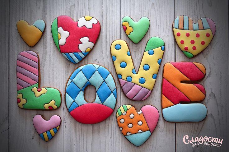 Имбирный пряник #LOVE #деньсвятоговалентина #валентинка #сладостидлярадости…