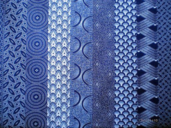 Blue Retro Africa  Original South African by chocolatnegrodesign, $15.00
