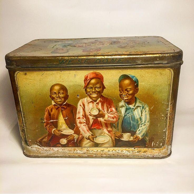 Beautiful and rare Mazawattee Tea Tin 1900 for sale on Ebay