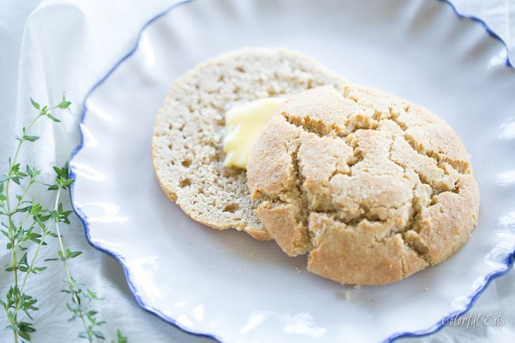 Paleo Morning Butter Biscuits from All American Paleo Table by Caroline Potter