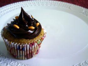 Pitadinha: Cupcake de cenoura 100% integral e sem açúcar