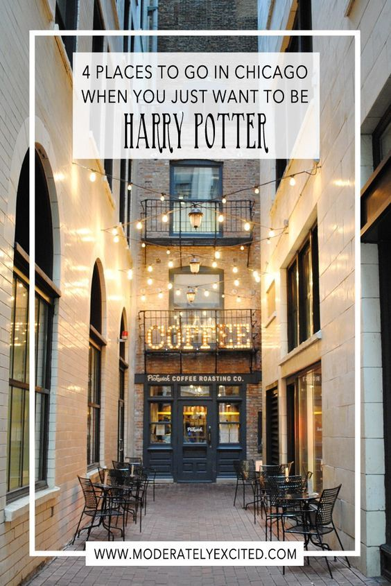4 magical places in Chicago to visit when you just want to be Harry Potter.