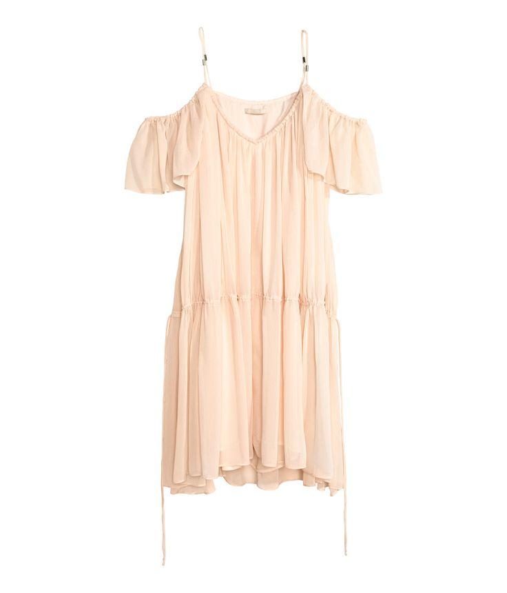 H m trend yellow dress vintage
