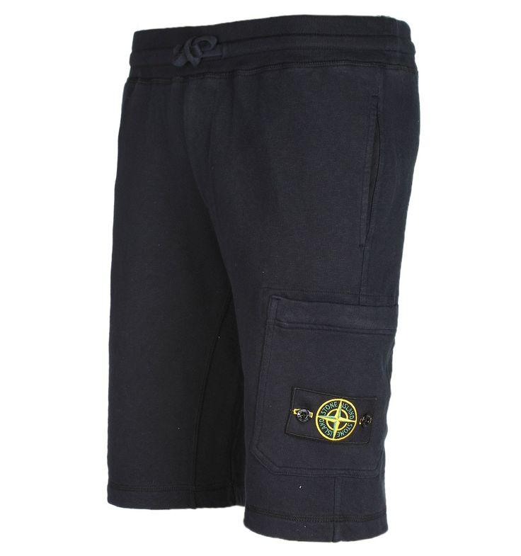 Stone Island Navy Track Shorts