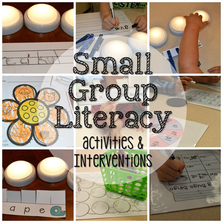 preschool small group literacy activities small activities and interventions for april mrs 840