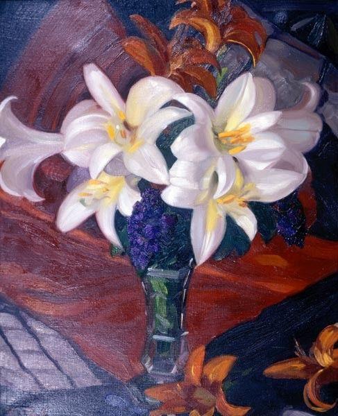 Святослав Рерих: Белые лилии