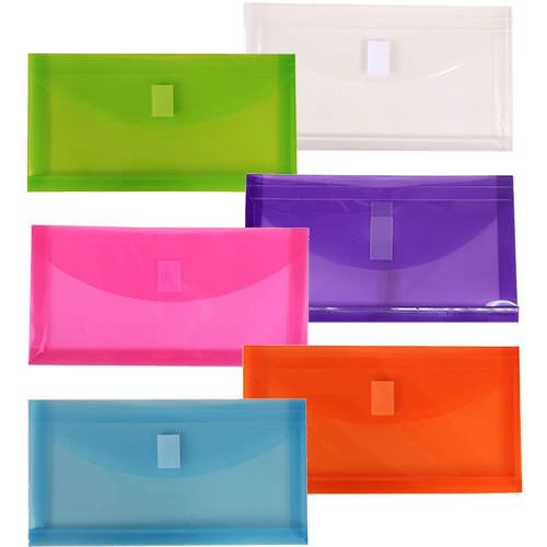 Plastic Envelopes with VELCRO� Brand Closure