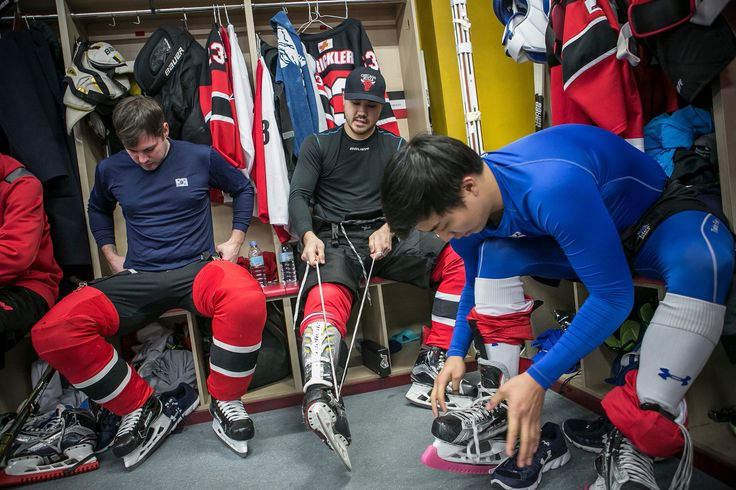 South Korea, Next Olympics Host, Went Shopping in North America to Build Its Hockey Teams - The New York Times