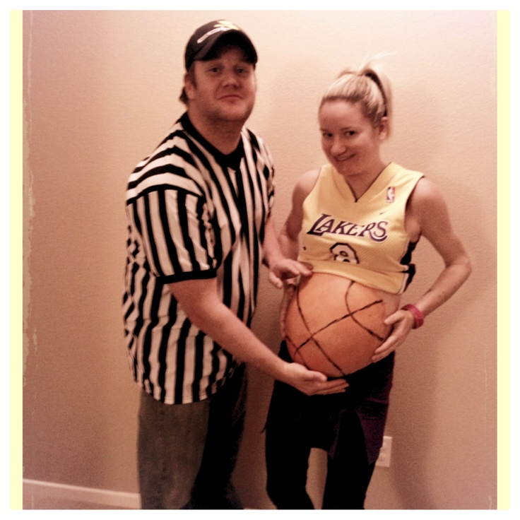 Halloween 2012 my baby boy was a basketball for his first costume.